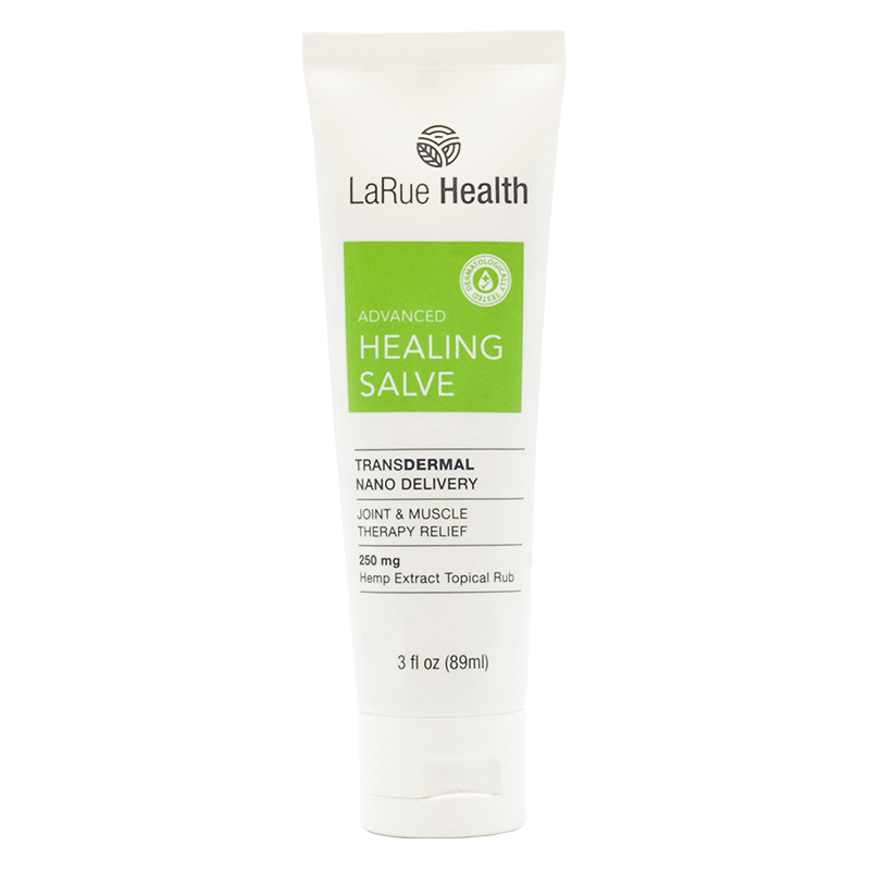 LaRue Health Healing Salve Gel Front View