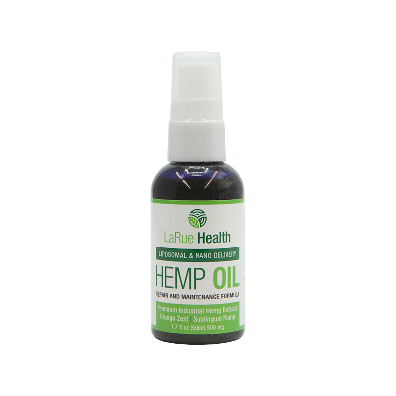 LaRue Health Hemp Oil Pump Front View