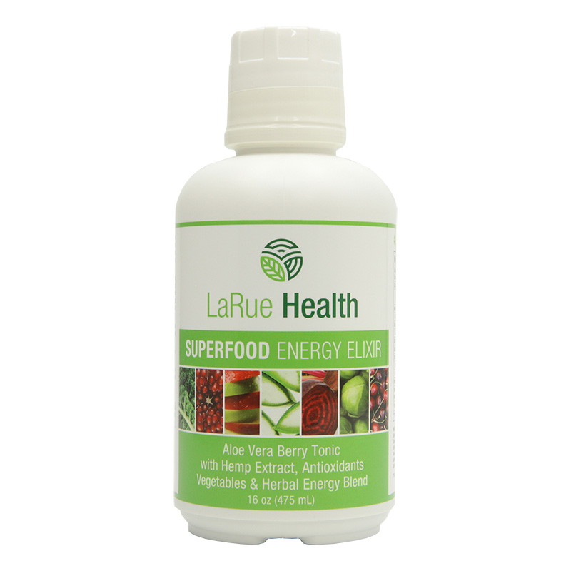 LaRue Health Energy Elixir Front View